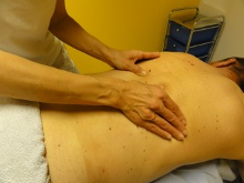Sport-Ruecken-Nacken Massage